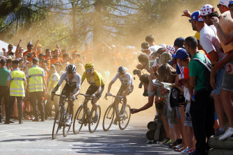 Chris Froome has questioned whether the Tour would be able to keep spectators away.