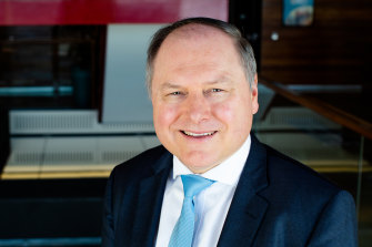 """Stockland managing director Mark Steinert says Australia will stand out as a """"paradise"""" for migrants in the post-virus world."""