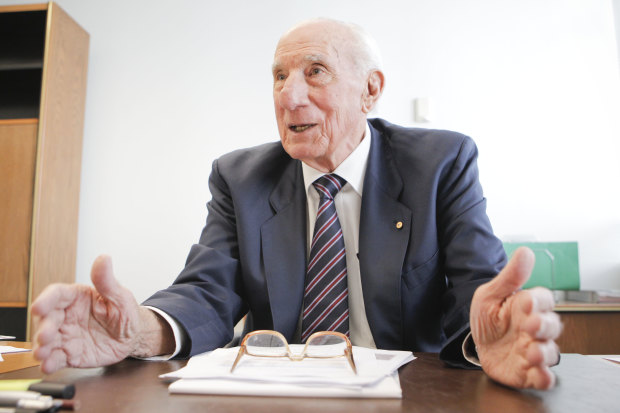 Tributes to former Brisbane alderman, football and business strategist Ian Brusasco AO at Tuesday's Brisbane City Council meeting.