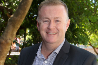 Ipswich City Council chief executive Sean Madigan.