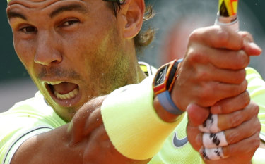 In red-hot form: Rafael Nadal.