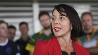 """The Labor candidate for Dawson, Belinda Hassan, said it was """"a scary incident""""."""