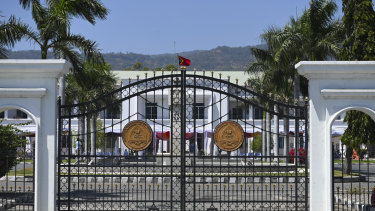 East Timor's Presidential Palace will host celebrations on Friday to commemorate the 20th anniversary of the nation's independence.