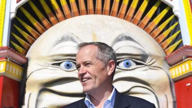 Opposition Leader Bill Shorten speaking in Melbourne on Saturday.