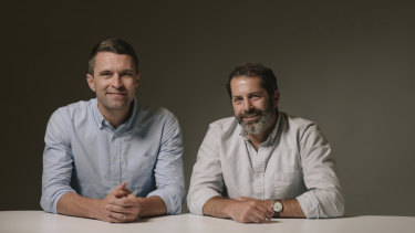 Allbirds founders Tim Brown and Joey Zwillinger.