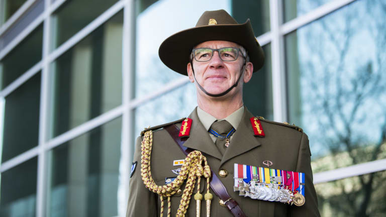 Army chief Rick Burr.