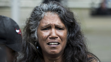 Aunty Ronella Jerome emotionally reacts to the High Court's ruling.