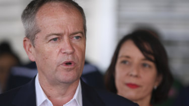 Bill Shorten has refused to rule out reviewing the Adani mine's approval.