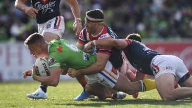 The Raiders will be battled hardened after a close loss against the Roosters and a comeback win against the table-topping Storm.