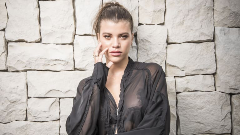 Sofia Richie, Hollywood It girl and daughter of Lionel Richie, in Sydney on Friday for Windsor Smith.