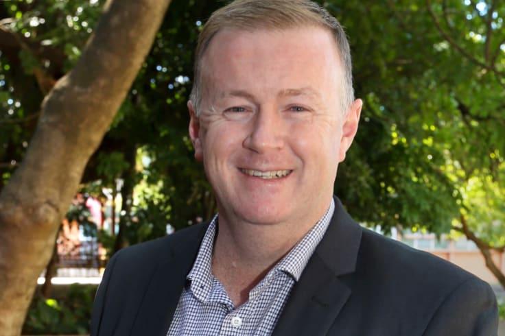 Ipswich City Council chief executive Sean Madigan.