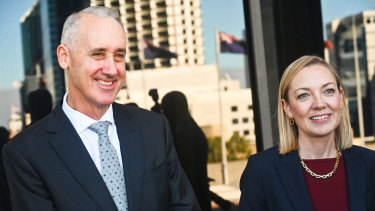 WA Nationals leader Mia Davies and Liberal leader David Honey have formed an alliance for opposition headed by Ms Davies.