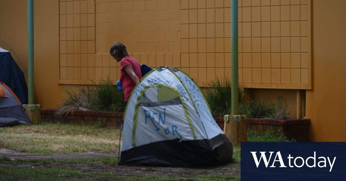 McGowan says Freo 'tent city' organisers were on an 'ego trip'