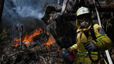 Firefighters topped the list of most ethical professions in the wake of horror bushfires over summer.