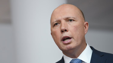 Dutton says war veterans want medevac laws scrapped in appeal to Lambie