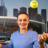 Barty soaks up adulation, brushes off home court pressure