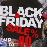 'Through the roof': Retailers reap the benefits as shoppers go wild for Black Friday