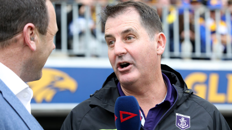 b00bed46255 Two wrongs Ross Lyon must get right at Fremantle in 2019