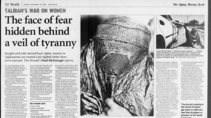 From the Archives, 2001: The Taliban's war on women