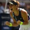 Swiss Belinda Bencic makes US Open semi-finals