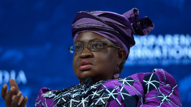 Ngozi Okonjo-Iweala says she wants the WTO to play a bigger role in health.