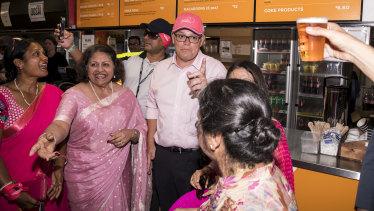 Prime Minister Scott Morrison announced $27 million in funding for breast cancer nurses.