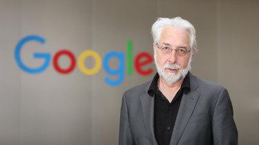 Richard Gingras, Google VP of News.