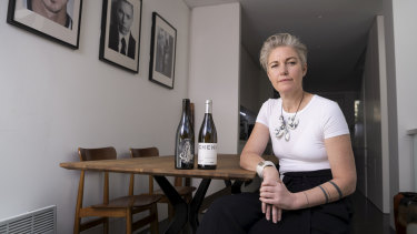 Co-owner of Banskii restaurant Rebecca Lines has added alcohol delivery to her business.