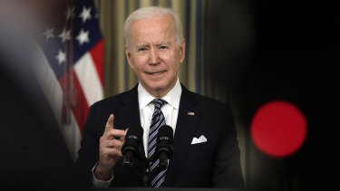 Joe Biden could be marking himself as one of the most energetic, reformist and progressive US presidents in modern history with his spending spree.