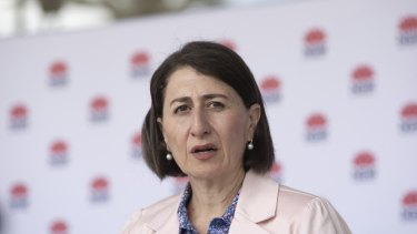 """Please talk to us"": NSW Premier Gladys Berejiklian."