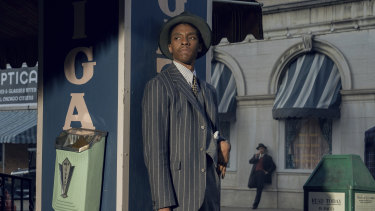Expected to win best actor posthumously: Chadwick Boseman in Ma Rainey's Black Bottom.