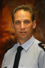 Steve Warrington, then Acting Chief Officer of the CFA, in 2009.