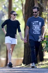 Natalie Portman and husband Benjamin Millepied appeared to have settled comfortably into Sydney life.