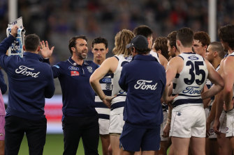 Chris Scott says the Cats will have options to change up their line-up.