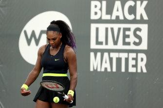 Serena Williams won upon her return to the WTA tour.