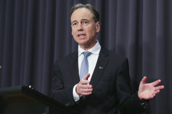 Federal Health Minister Greg Hunt said the government has secured cold storage supply chains for the Pfizer vaccine.