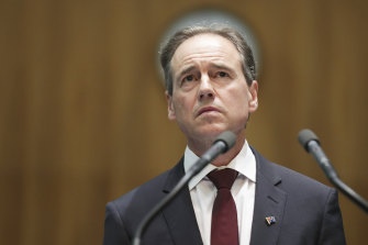 Federal Health Minister Greg Hunt announced the centralised aged care response centre on Saturday.
