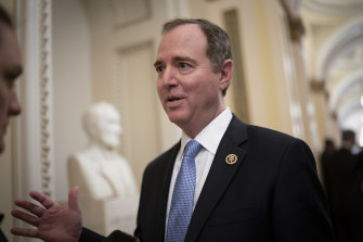 Adam Schiff was among 12 people whose records were shared by Apple.