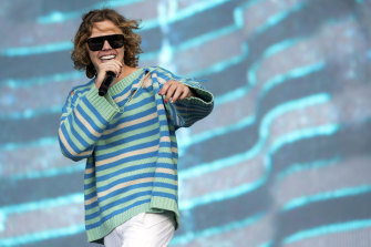The Kid Laroi, pictured at last month's Reading Festival, has announced Australia arena tour dates for 2022.
