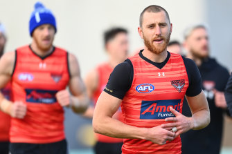 Dyson Heppell has fractured his ankle.
