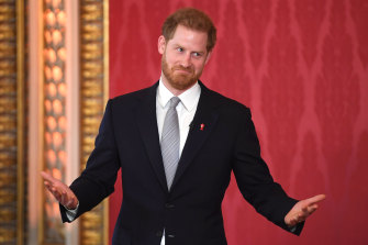 Prince Harry, the Patron of the Rugby Football League, hosts the Rugby League World Cup 2021 draw at Buckingham Palace.