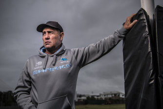 Shane Flanagan is in discussions with the NRL about returning as a head coach as early as this season.