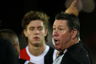 Brett Ratten has developed a people-first coaching style.
