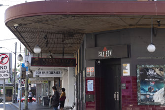 The Slyfox in Enmore is at risk of closing.