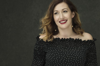 Comedian and actor Celia Pacquola hosts Australia vs Anxiety on SBS.