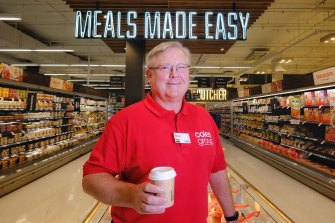 Coles chief executive Steven Cain is planning to roll out convenience offerings to 100 stores before Christmas.