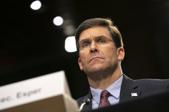 US Defence Secretary Mark Esper said the US would hold the perpetrators of the attack accountable.