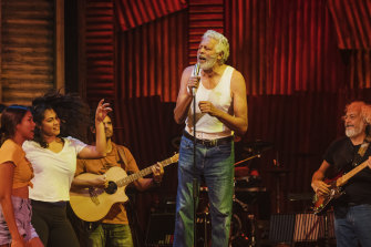 Ernie Dingo lit up the production as Uncle Tadpole.