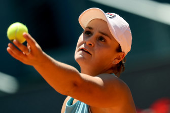 Ashleigh Barty has drawn Spaniard Carla Suarez Navarro first-up.