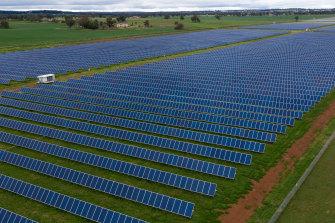 South Keswick Solar Farm in Dubbo, NSW.